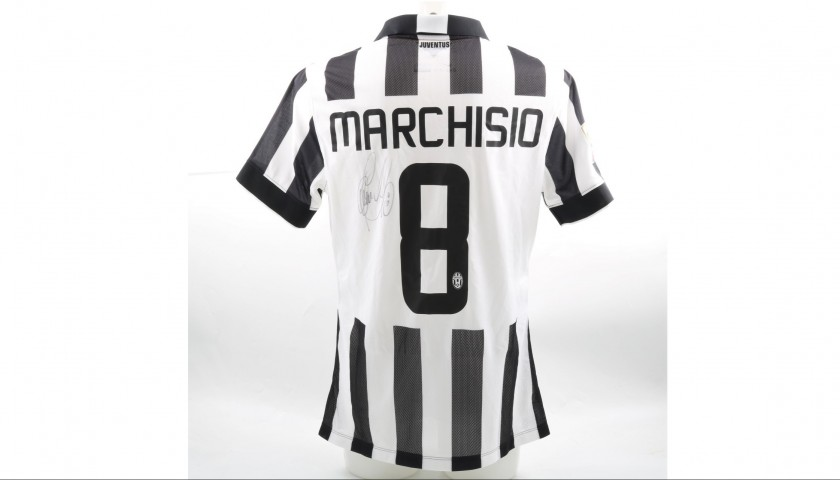Marchisio's Signed Match-Issued/Worn 2014/15 Juventus Shirt