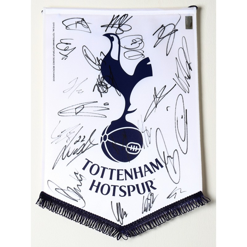 Official Tottenham Hotspur FC Pennant Signed by the Squad of 2017