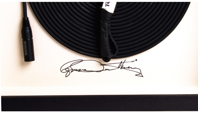 A Unique The Who Tommy Microphone Signed by Roger Daltrey