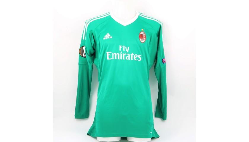 save off 49740 6985a Donnarumma's Milan Match Kit, EL 2017/18 + Matchball - CharityStars