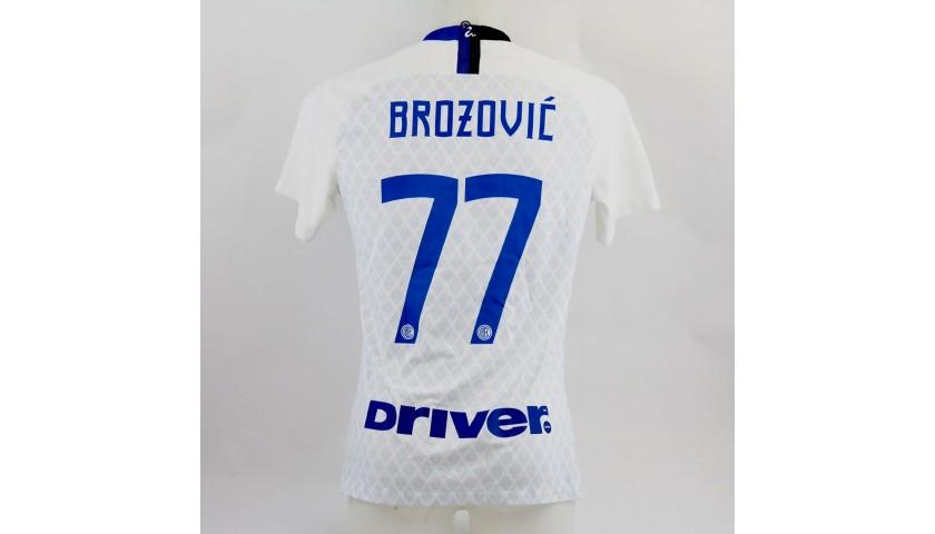 Brozovic's Inter Match Shirt, Serie A 2018/19