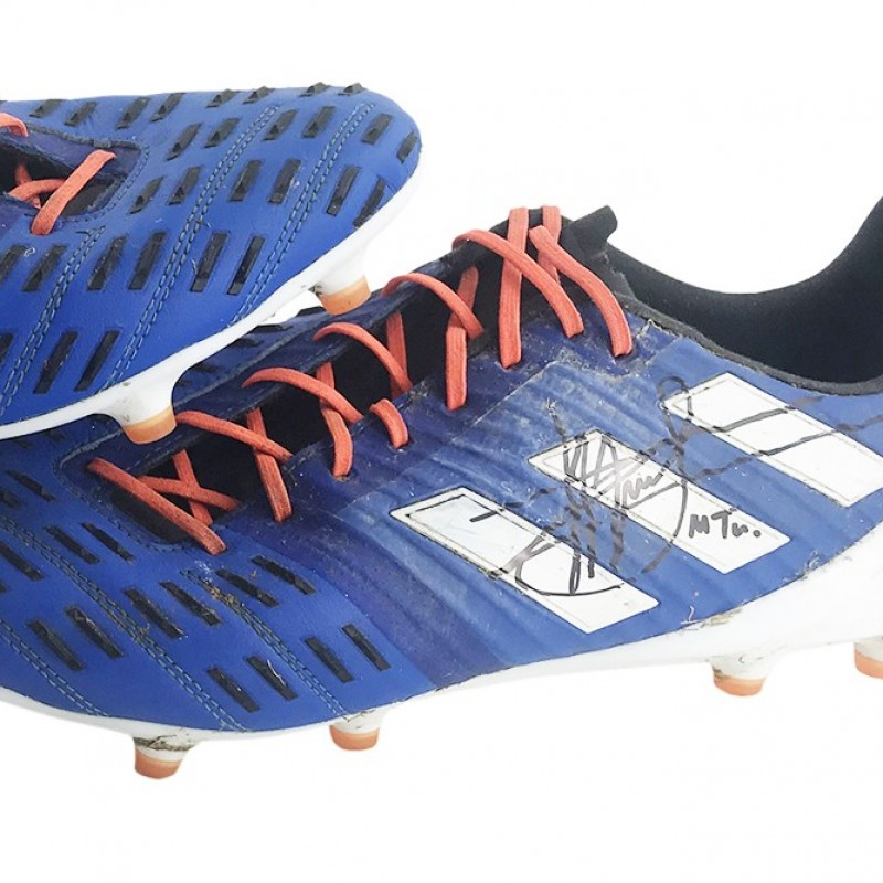 Manu Tuilagi Match-Worn Signed Boots - Rugby World Cup 2019
