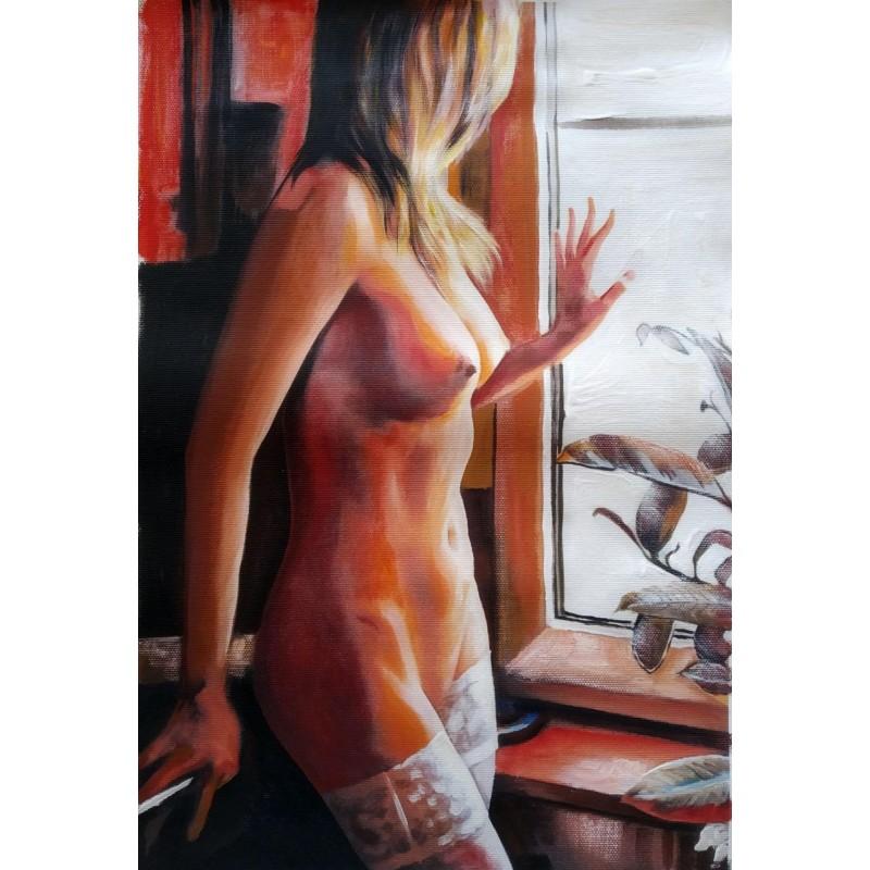"""""""Nudo alla finestra"""" by Antonello Arena"""