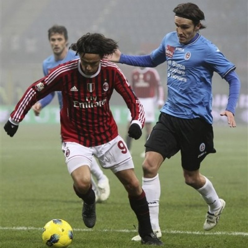 Inzaghi's Milan Signed Match Shirt, TIM Cup 2011/12