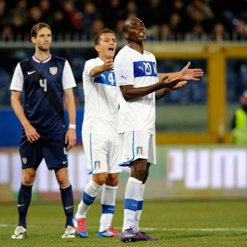 Ogbonna's Italy U21 Match Shirt, 2010 Season