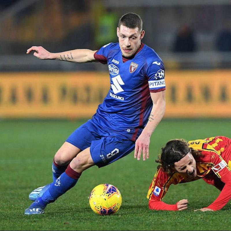 Belotti's Torino Signed Match Shirt, 2019/20