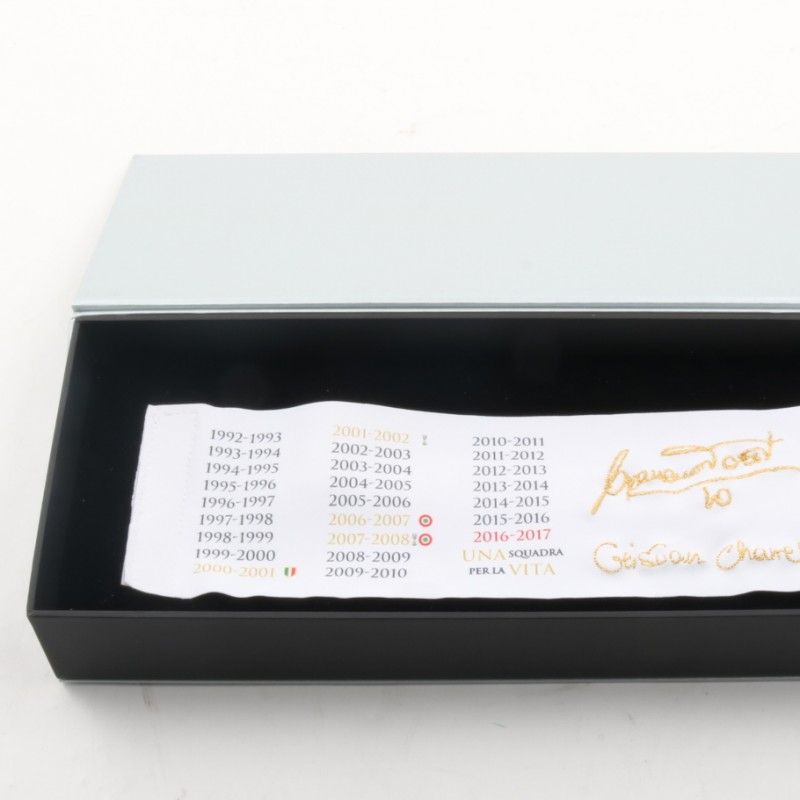 Special Edition Francesco Totti Box - Signed Captain armband
