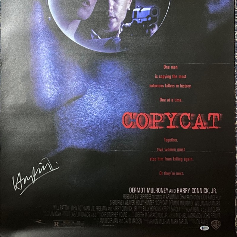 Harry Connick Jr. Signed Copycat Original Movie Poster