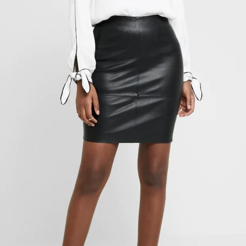 Vila Leather Skirt Donated by Michelle Heaton