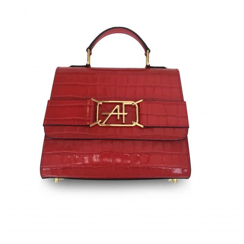 Alberta Ferretti Logo Bag