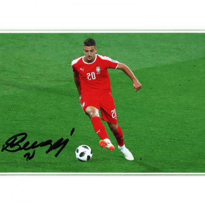 Sergej Milinkovic-Savic Signed Photograph