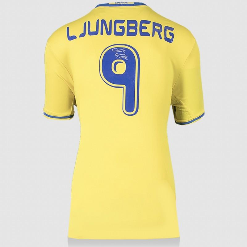 Ljungberg's Sweden Signed Shirt