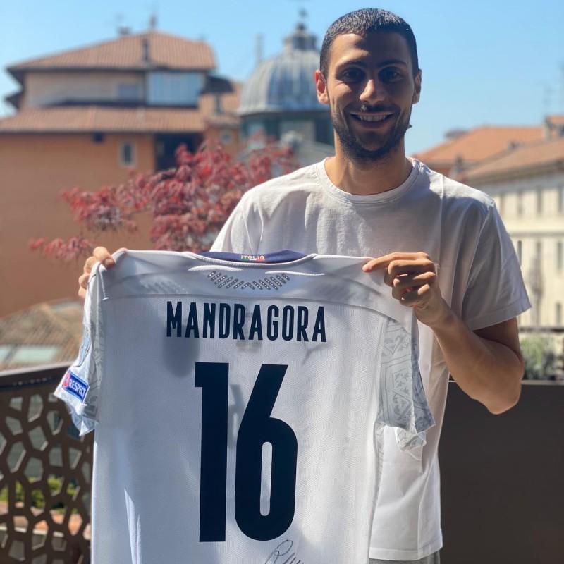 Mandragora's Worn and Signed Shirt, Bosnia-Italy 2019