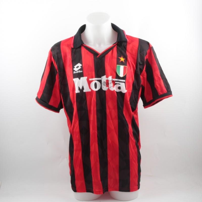 Official Baresi Milan shirt, 1993/1994 season - signed