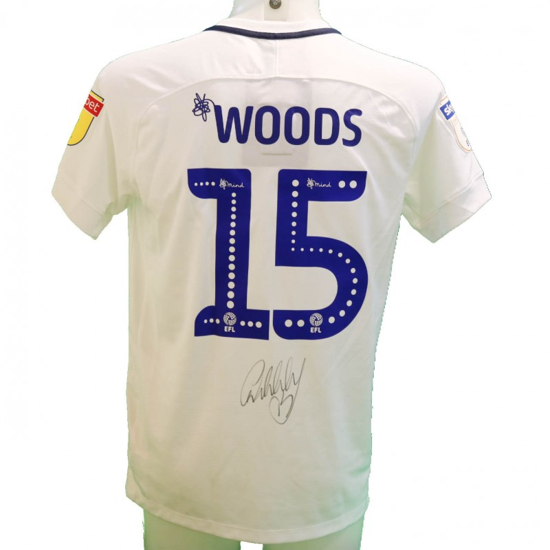 Woods' Preston Issued and Signed Poppy Shirt