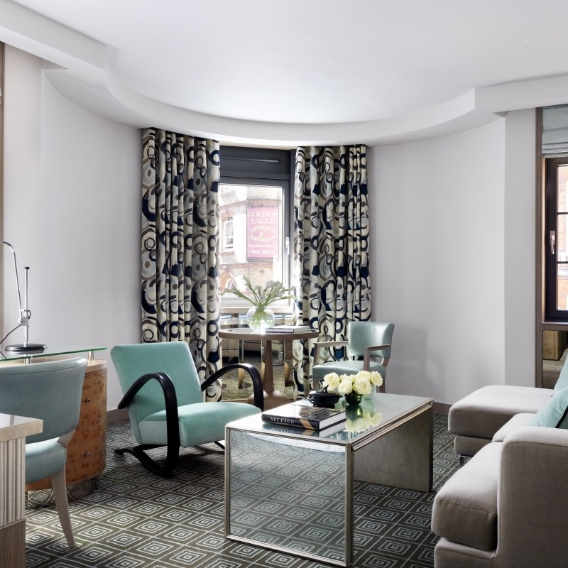 Weekend stay at the Marylebone Hotel for 2 people in a Luxury Suite