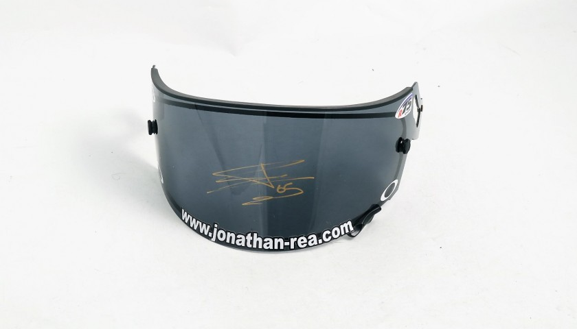 Jonathan Rea's Signed Oakley Visor