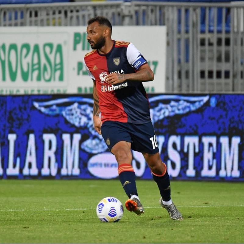 Joao Pedro's Official Cagliari Signed Kit, 2020/21