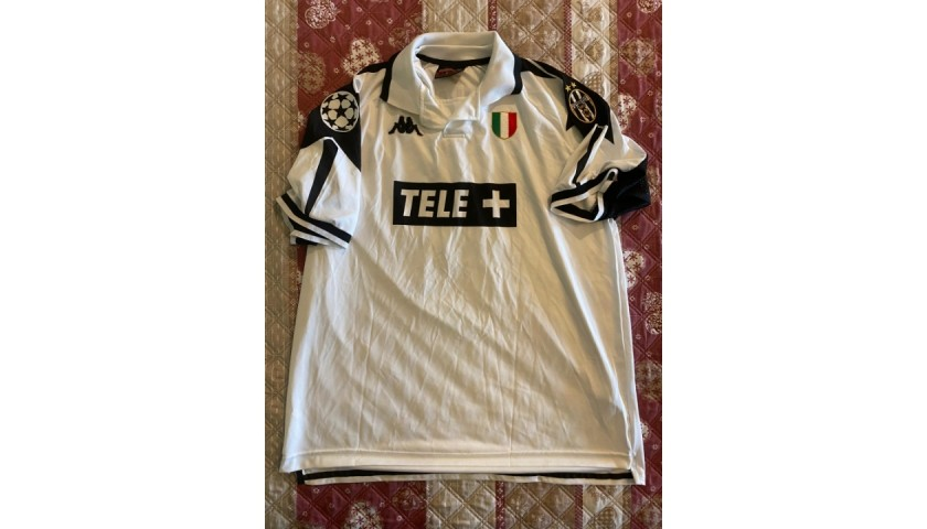 Deschamps' Juventus Match Shirt, UCL 1998/99