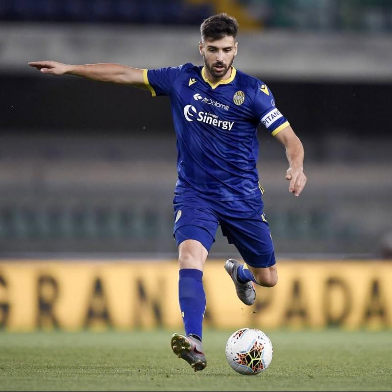 Veloso's Official Hellas Verona Signed Kit, 2019/20