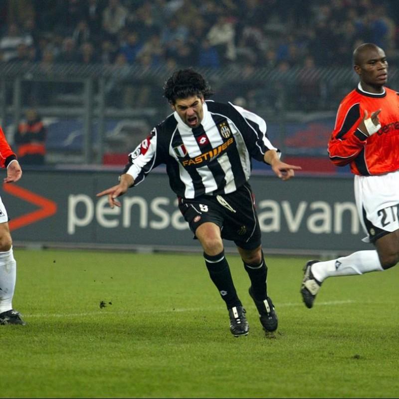 Salas' Match-Issued/Worn Juventus Shirt, 2002/03