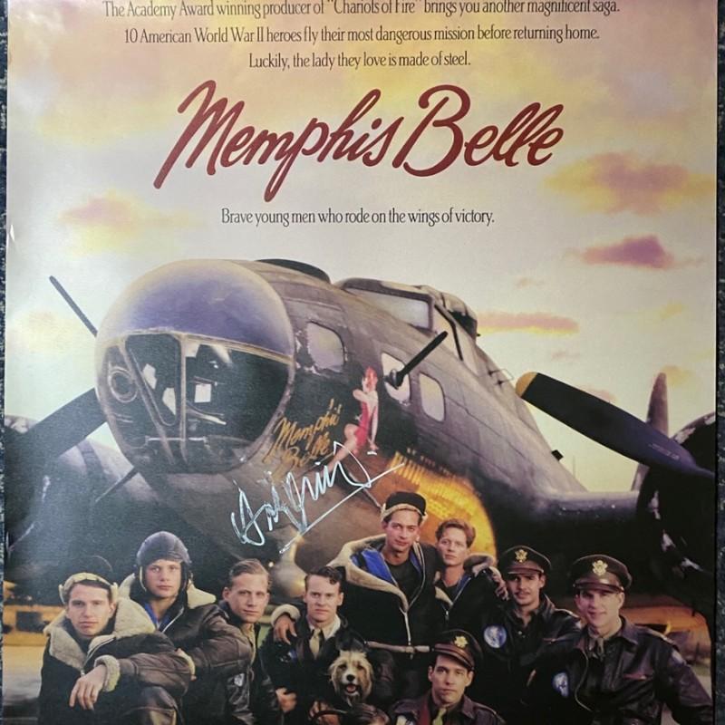 Harry Connick Jr. Signed Memphis Belle Original Movie Poster