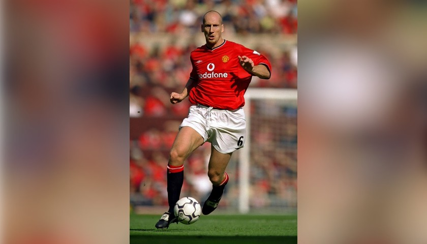Stam's Manchester United Signed Match Shirt, 2001/02