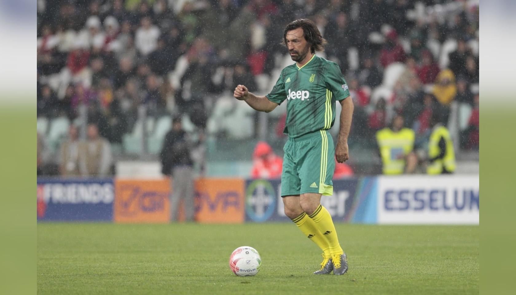 Pirlo's Signed Match Shirt, Partita del Cuore 2019 ...