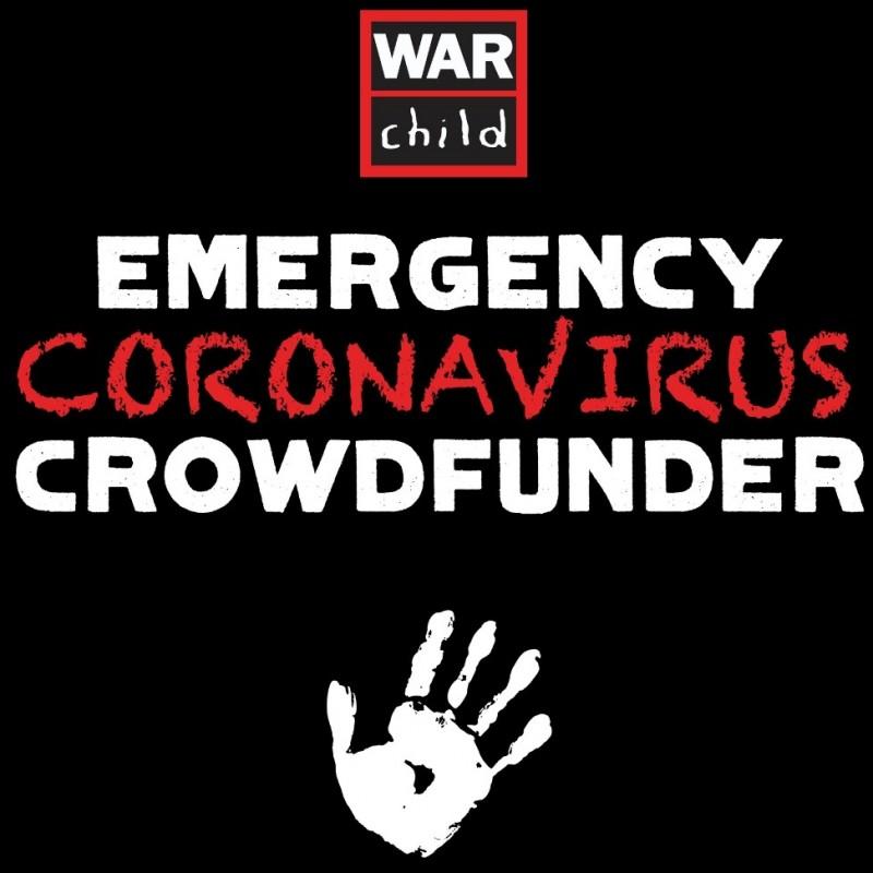 War Child Emergency Coronavirus Crowdfunder