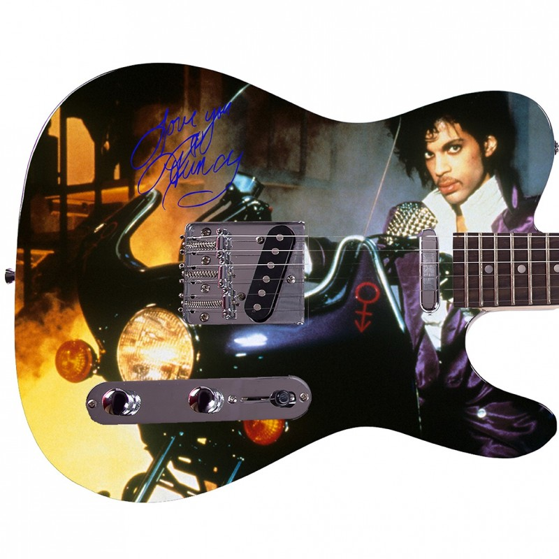 Prince Custom Photo Guitar