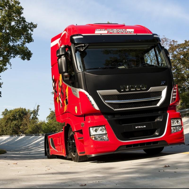 New Stralis XP TCO2 Champion in exclusive Scuderia Ferrari livery