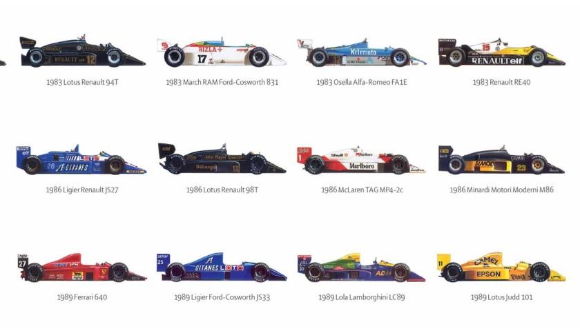 Formula 1 Opus Art Print