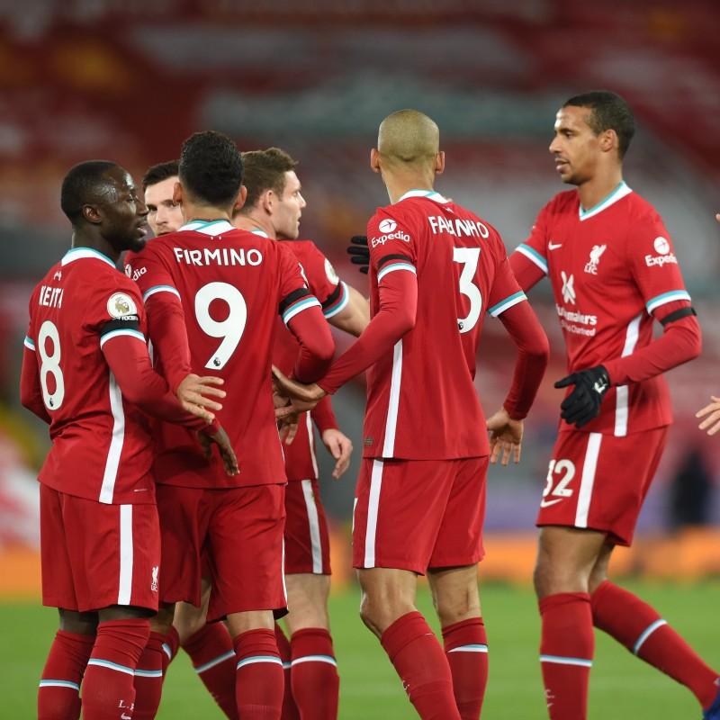 Liverpool FC Perfect Match Worn Shirts 2020