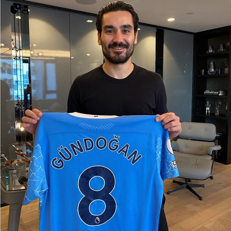 Ilkay Gündogan – Charity for Manchester