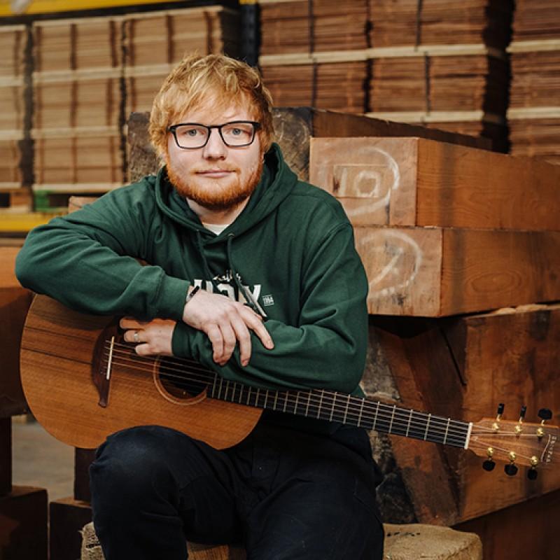 Guitar Signed By Ed Sheeran
