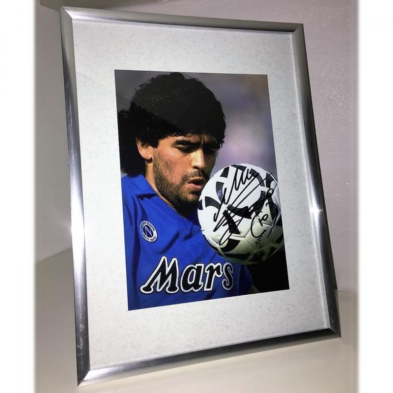 Diego Maradona Signed Photograph