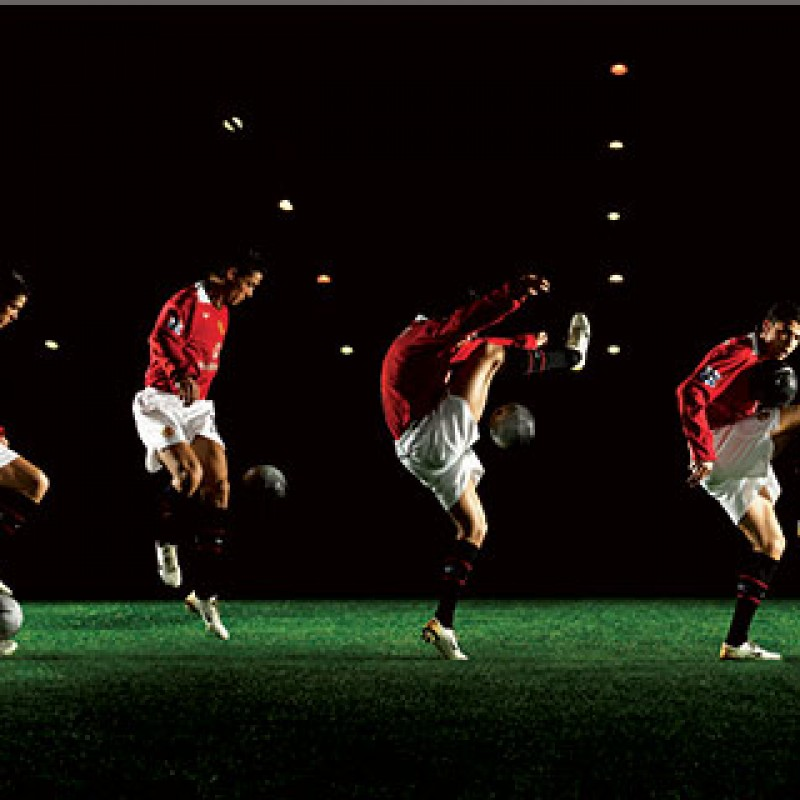 Ronaldo Dancing Art Print