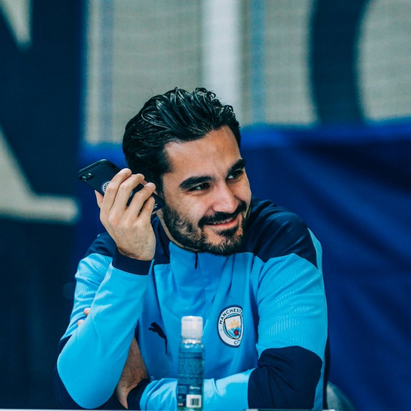 Win a Virtual Meet & Greet with Ilkay Gundogan​