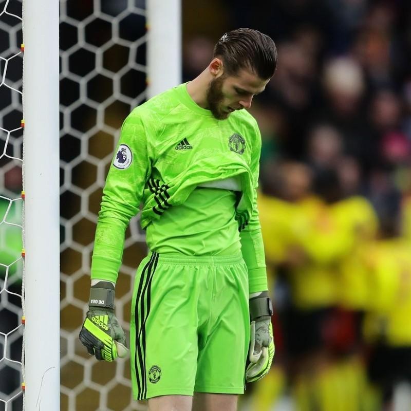 De Gea's Match Shirt, Watford-Manchester United 2019