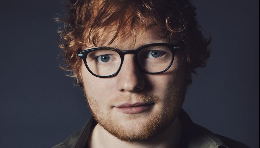 Meet Ed Sheeran and Take Home his Signed Guitar