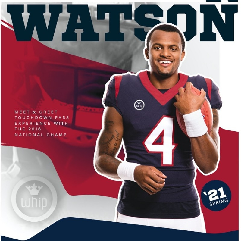 The Ultimate on Field Deshawn Watson Experience