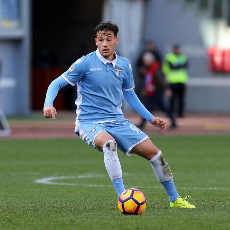 Maglia Murgia preparata / indossata Roma-Lazio 2017