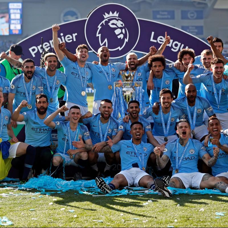 Man City Champions