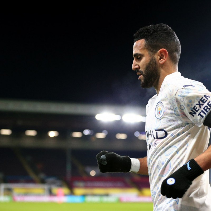 Win a Mahrez's Man City Match-Issued Signed Shirt
