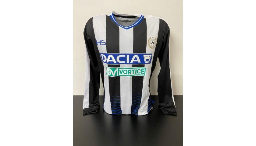 Badu's Udinese Match Signed Shirt, 2016/17