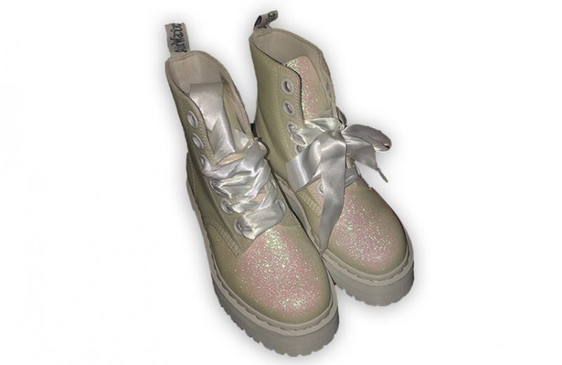 Avril's Personal White Dr. Martens