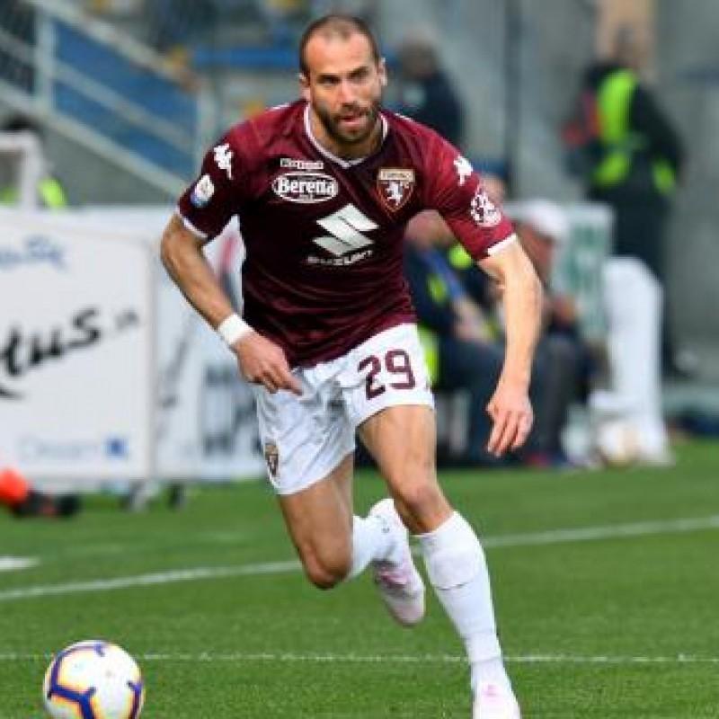 De Silvestri's Torino Signed Match Shirt, 2018/19