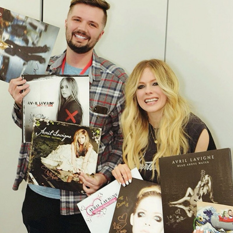 Meeting Avril Lavigne in Japan