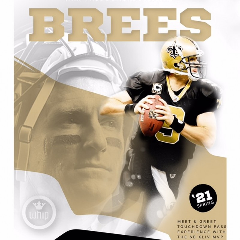 The Ultimate on Field Drew Brees Experience