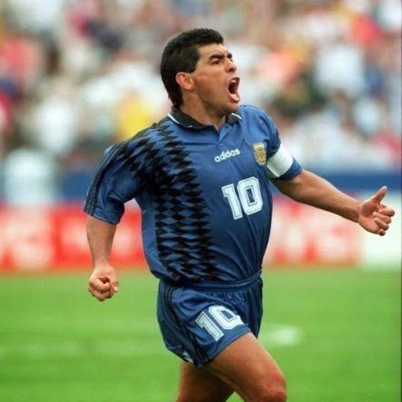 Maradona's Official Argentina Signed Shirt, 1994
